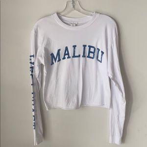 Full Tilt Malibu Half Shirt / Crop Top